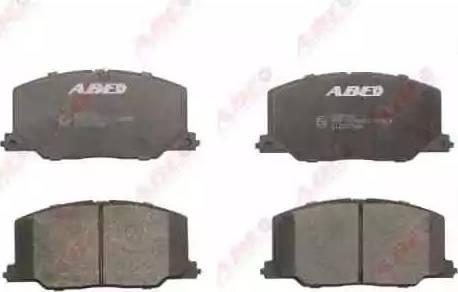 ABE C12037ABE - Piduriklotsi komplekt,ketaspidur multiparts.ee