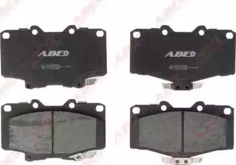 ABE C12071ABE - Piduriklotsi komplekt,ketaspidur multiparts.ee