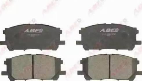 ABE C12108ABE - Piduriklotsi komplekt,ketaspidur multiparts.ee