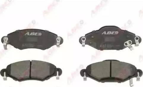 ABE C12103ABE - Piduriklotsi komplekt,ketaspidur multiparts.ee