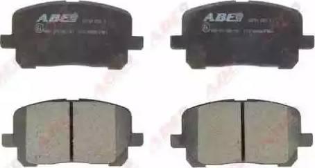 ABE C12102ABE - Piduriklotsi komplekt,ketaspidur multiparts.ee
