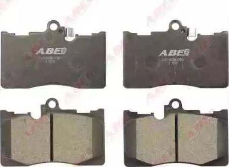 ABE C12116ABE - Piduriklotsi komplekt,ketaspidur multiparts.ee