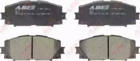 ABE C12113ABE - Piduriklotsi komplekt,ketaspidur multiparts.ee