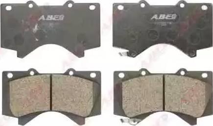 ABE C12129ABE - Piduriklotsi komplekt,ketaspidur multiparts.ee