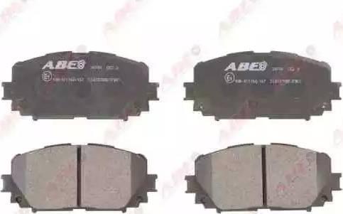 ABE C12127ABE - Piduriklotsi komplekt,ketaspidur multiparts.ee