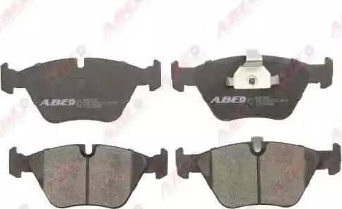 ABE C1B009ABE - Piduriklotsi komplekt,ketaspidur multiparts.ee