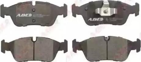 ABE C1B022ABE - Piduriklotsi komplekt,ketaspidur multiparts.ee