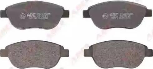 ABE C1C035ABE - Piduriklotsi komplekt,ketaspidur multiparts.ee