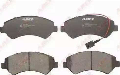 ABE C1F058ABE - Piduriklotsi komplekt,ketaspidur multiparts.ee