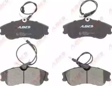 ABE C1P025ABE - Piduriklotsi komplekt,ketaspidur multiparts.ee