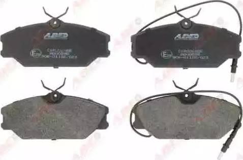 ABE C1R006ABE - Piduriklotsi komplekt,ketaspidur multiparts.ee