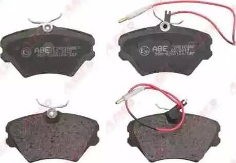 ABE C1R010ABE - Piduriklotsi komplekt,ketaspidur multiparts.ee