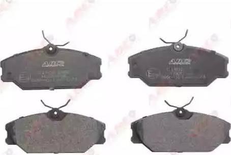 ABE C1R023ABE - Piduriklotsi komplekt,ketaspidur multiparts.ee