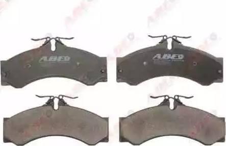 ABE C1W036ABE - Piduriklotsi komplekt,ketaspidur multiparts.ee