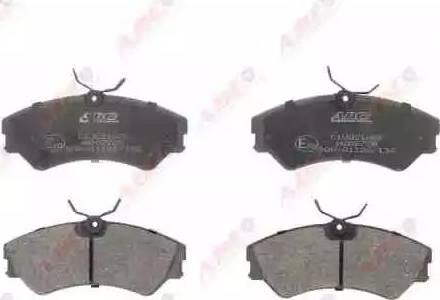 ABE C1W021ABE - Piduriklotsi komplekt,ketaspidur multiparts.ee