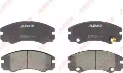 ABE C1X015ABE - Piduriklotsi komplekt,ketaspidur multiparts.ee