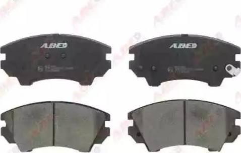 ABE C1X039ABE - Piduriklotsi komplekt,ketaspidur multiparts.ee