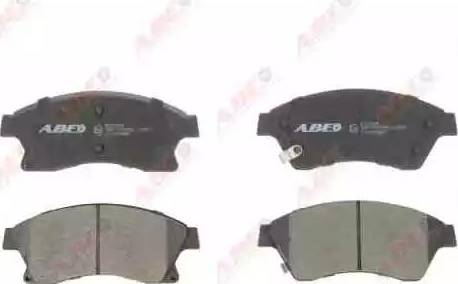 ABE C1X036ABE - Piduriklotsi komplekt,ketaspidur multiparts.ee