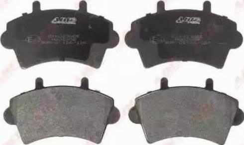 ABE C1X023ABE - Piduriklotsi komplekt,ketaspidur multiparts.ee