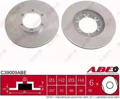 ABE C39009ABE - Piduriketas multiparts.ee