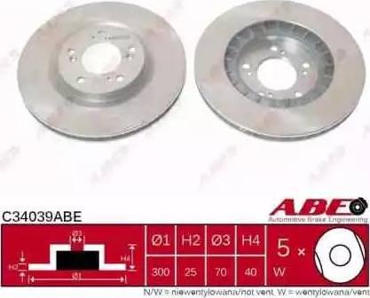 ABE C34039ABE - Piduriketas multiparts.ee