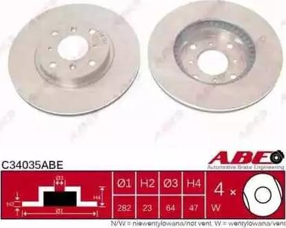 ABE C34035ABE - Piduriketas multiparts.ee