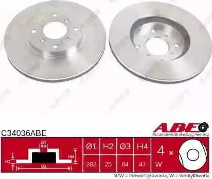 ABE C34036ABE - Piduriketas multiparts.ee