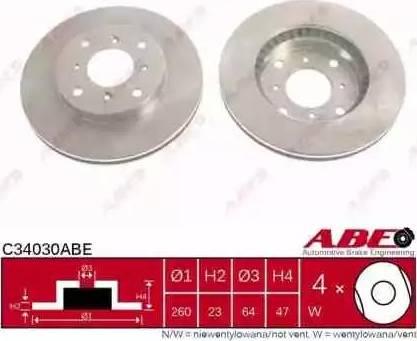 ABE C34030ABE - Piduriketas multiparts.ee