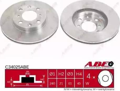 ABE C34025ABE - Piduriketas multiparts.ee