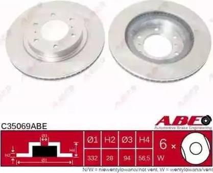 ABE C35069ABE - Piduriketas multiparts.ee