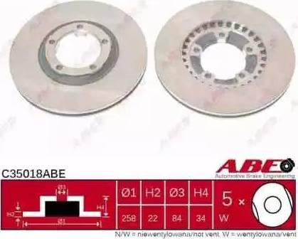 ABE C35018ABE - Piduriketas multiparts.ee