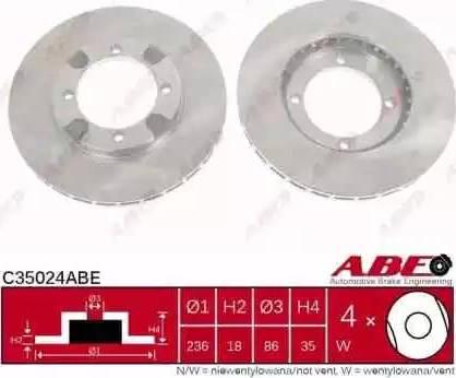 ABE C35024ABE - Piduriketas multiparts.ee