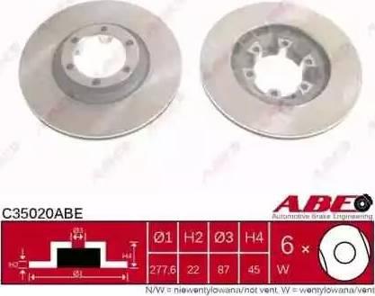 ABE C35020ABE - Piduriketas multiparts.ee