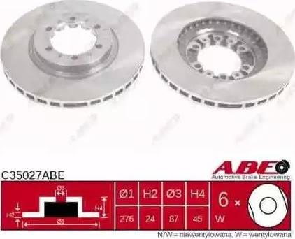 ABE C35027ABE - Piduriketas multiparts.ee