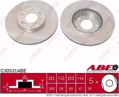 ABE C30531ABE - Piduriketas multiparts.ee
