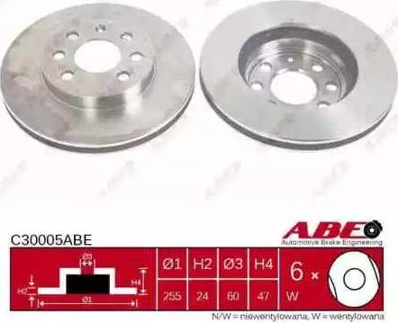 ABE C30005ABE - Piduriketas multiparts.ee