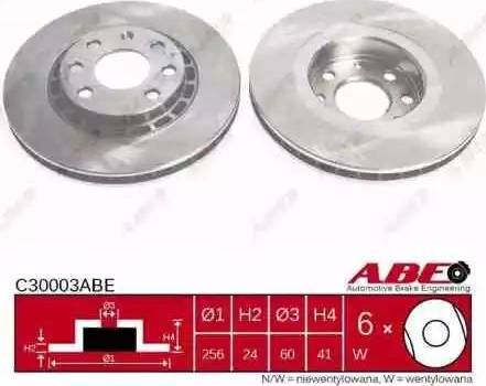 ABE C30003ABE - Piduriketas multiparts.ee