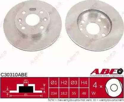 ABE C30310ABE - Piduriketas multiparts.ee