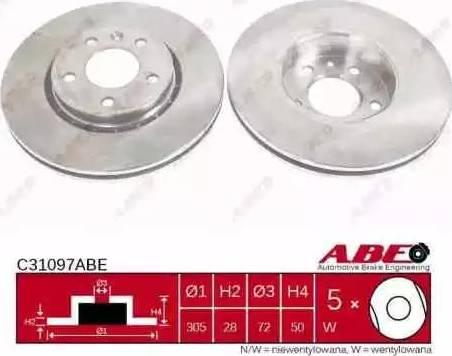 ABE C31097ABE - Piduriketas multiparts.ee