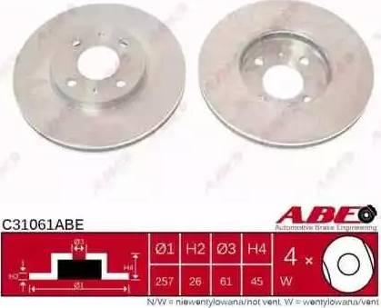 ABE C31061ABE - Piduriketas multiparts.ee