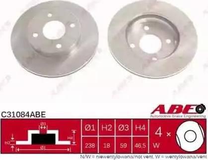ABE C31084ABE - Piduriketas multiparts.ee