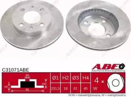 ABE C31071ABE - Piduriketas multiparts.ee