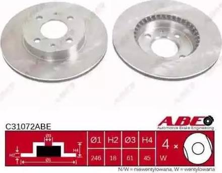 ABE C31072ABE - Piduriketas multiparts.ee