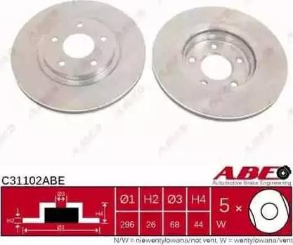 ABE C31102ABE - Piduriketas multiparts.ee