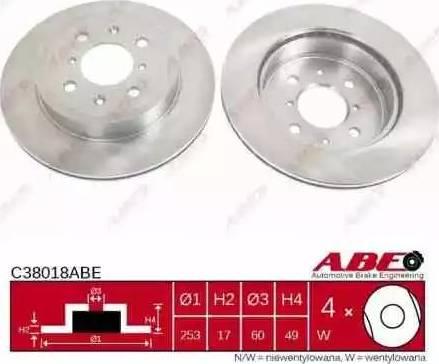 ABE C38018ABE - Piduriketas multiparts.ee