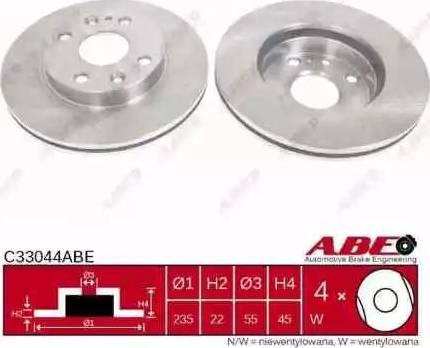 ABE C33044ABE - Piduriketas multiparts.ee