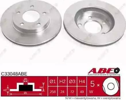 ABE C33048ABE - Piduriketas multiparts.ee