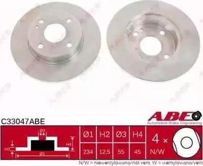 ABE C33047ABE - Piduriketas multiparts.ee