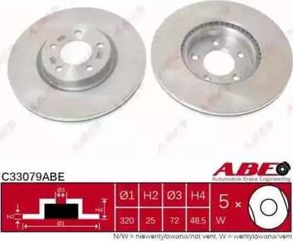 ABE C33079ABE - Piduriketas multiparts.ee