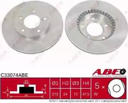ABE C33074ABE - Piduriketas multiparts.ee